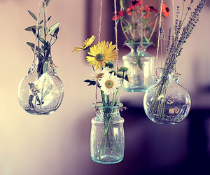 flowers and jar image