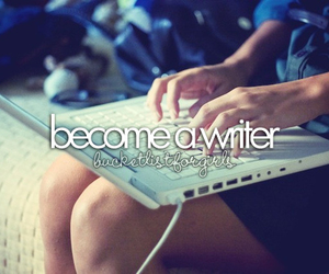 before i die, girl, and writer image