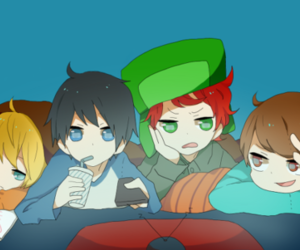 boys, kenny, and kyle image