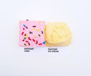 pantone, ice cream, and cake image