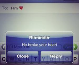 love, him, and reminder image