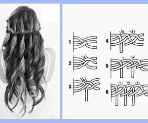 hair, diy, and tutorial image