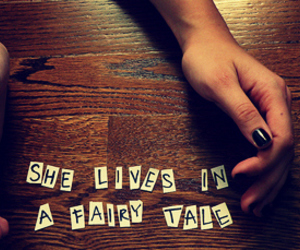 fairy tale, hands, and Lyrics image