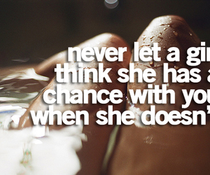 chance, girl, and quote image