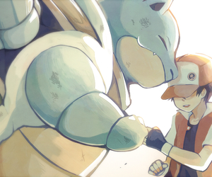 pokemon, ash, and blastoise image