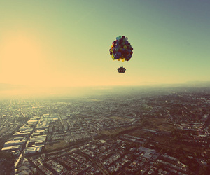 up, balloons, and Dream image