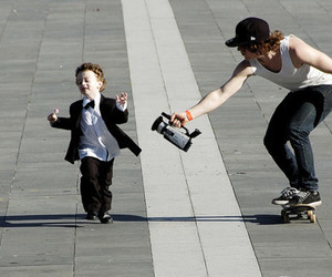 boy, skate, and cute image