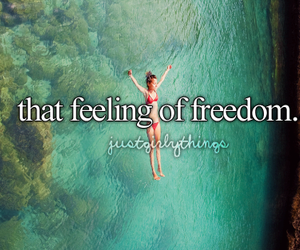 freedom, summer, and feeling image