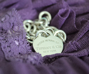 purple, tiffany, and tiffany & co image