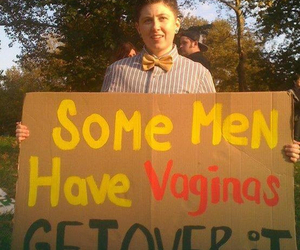 ftm, trans, and some men have vaginas image