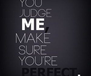 judge and perfect image