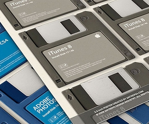 Adobe Photoshop, iTunes, and obsolete image