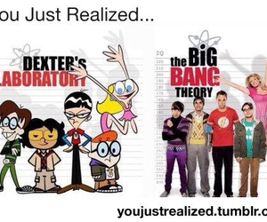funny, big bang theory, and Dexter image