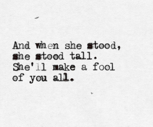 quotes, girl, and fool image