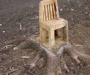 chair and tree image