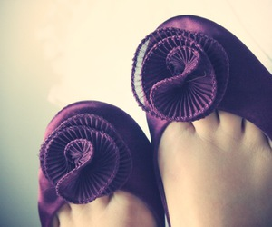 purple, shoes, and romantic image