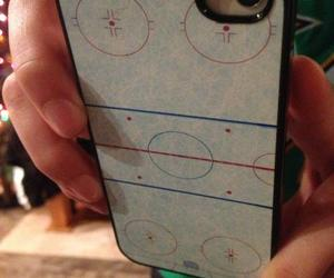 hockey and iphone image