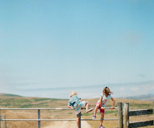 summer, child, and kids image
