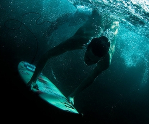 surf, ocean, and water image