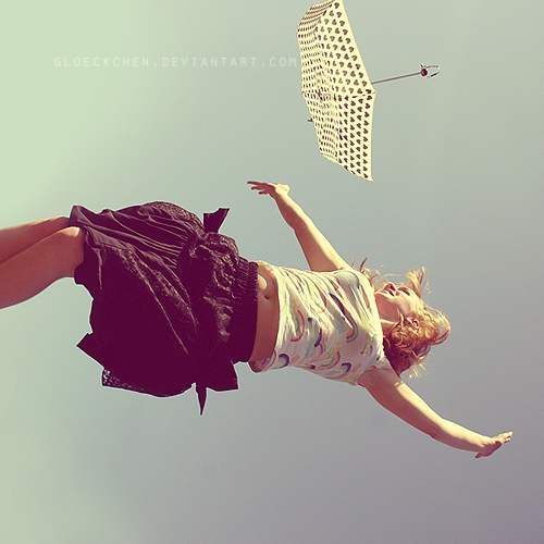 blond, jumping, and movement image