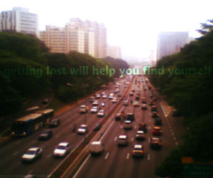 cars, city, and quote image