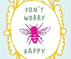happy, bee, and quote image