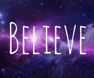 believe, galaxy, and colours image