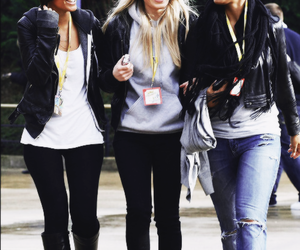 the saturdays, frankie sandford, and mollie king image