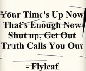 flyleaf, quote, and new horizons image
