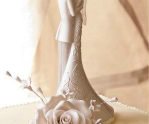 beautiful, cake, and couple image