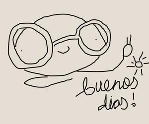 adorable, illustration, and buenos días image