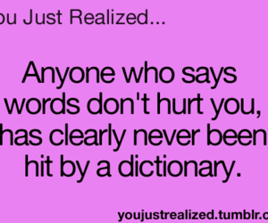 dictionary, funny, and hurt image