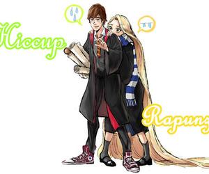hogwarts, rapunzel, and hiccup image