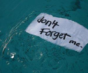 forget, quotes, and water image