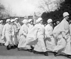 new york, suffragists, and march 3 1913 image