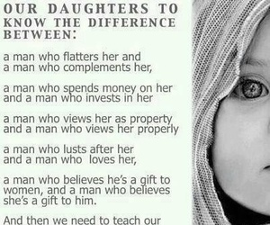 love, daughter, and quote image
