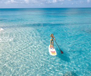 ocean and paddle board image