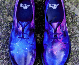 dr martens, galaxy, and fashion items image