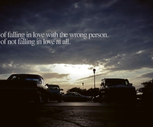 afraid, fall in love, and I Love You image