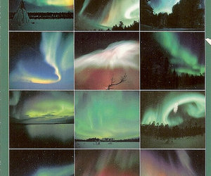 aurora, glow, and space image