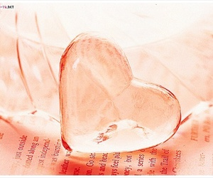heart, glass, and cute image