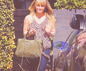 actress, blonde, and Hilary Duff image