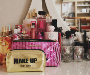 make up, cosmetics, and love image