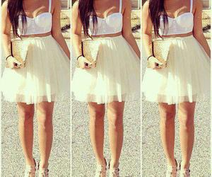 boots, dress, and outfits image