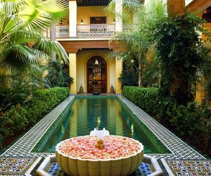 marrakech, maroc, and amazing places image