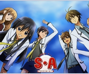 special a and anime image