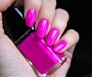 pink, nails, and killer colours image