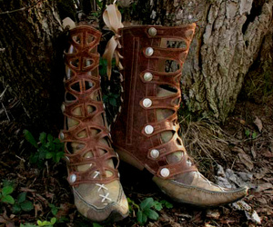 boots, elf, and faerie image