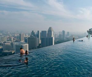 pool, city, and water image