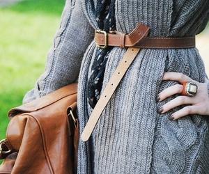 fashion, bag, and belt image